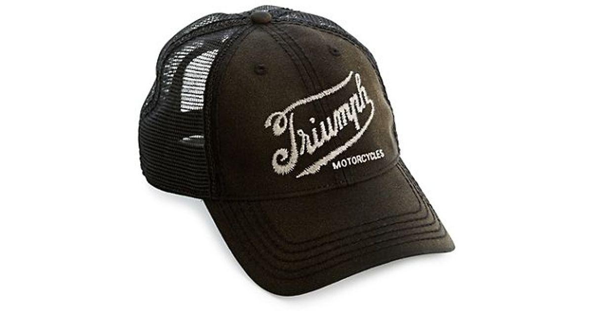 13d6ac22d95 Lyst - Lucky Brand Triumph Baseball Cap in Black for Men