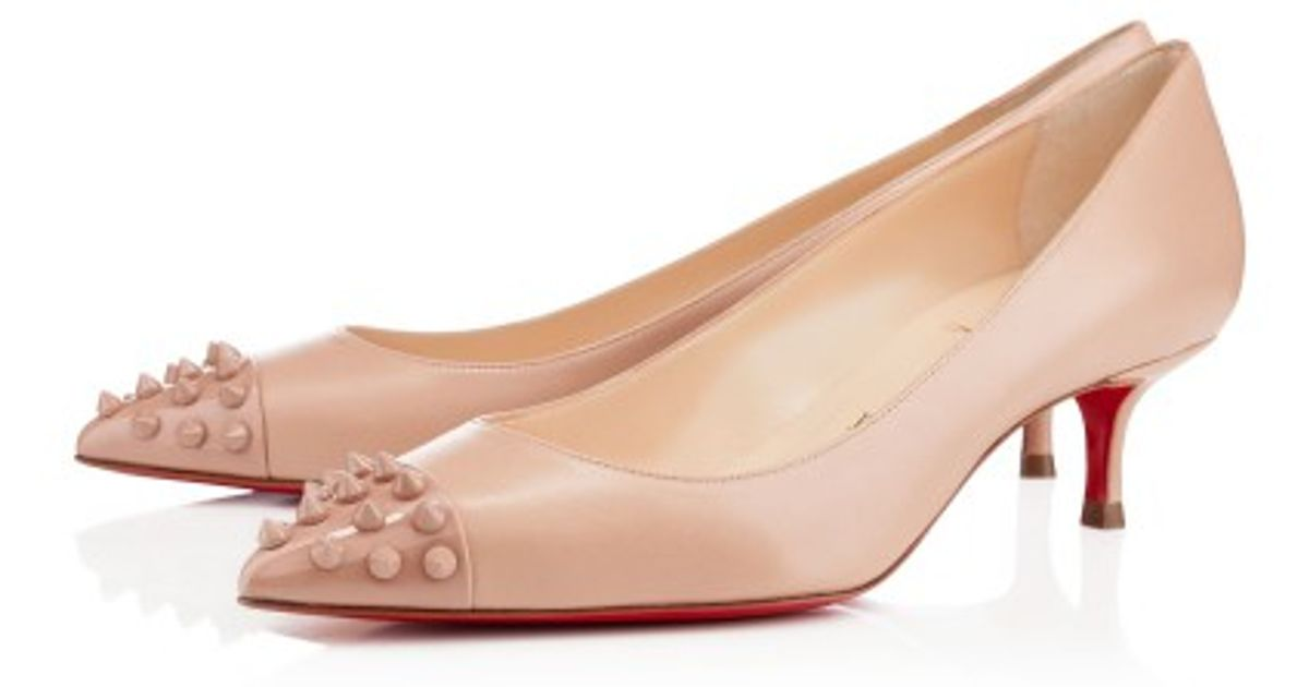 various colors 16828 6cdf3 Christian Louboutin - Pink Geo Pump - Lyst