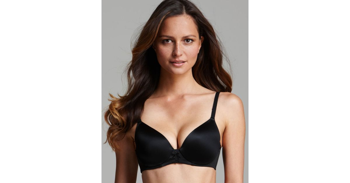 cf6b590799c9e Lyst - Spanx ® Bra - Bra-Vo! Deep Plunge With Mesh Back  1489 in Black