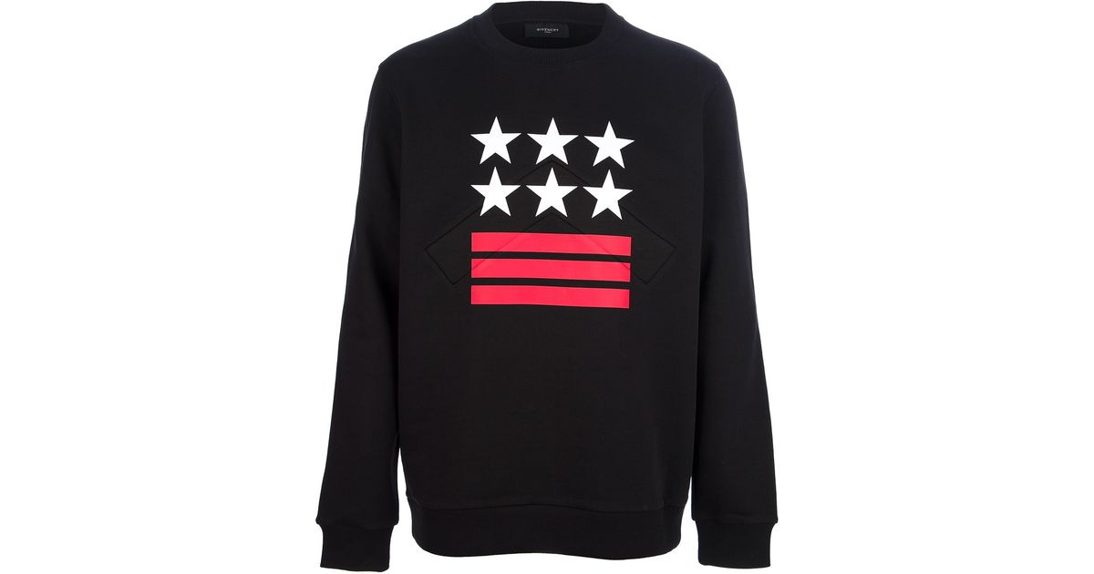 e80f724691 Lyst - Givenchy Stars and Stripes Sweatshirt in Black for Men