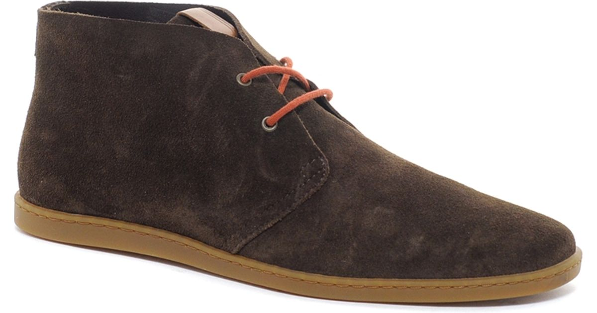 90cfb274f32 Fred Perry Natural Goldhawk Desert Boots for men