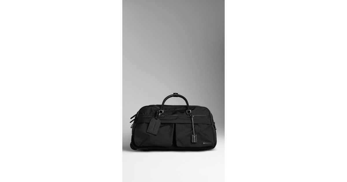 Burberry Leather Duffle Bag