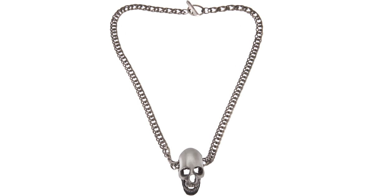 Charm Heart necklace - Metallic Saint Laurent wWnesk