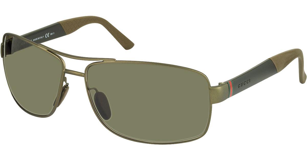 e1232c106dcf8 Gucci Gg 2234 S Dld70 Brown Men S Sunglasses in Brown for Men - Lyst