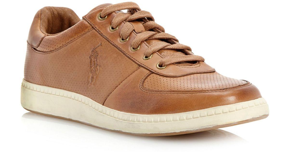 aaaf1cd8086b ralph lauren hernando leather trainers navy - Dr. E. Horn GmbH - Dr ...