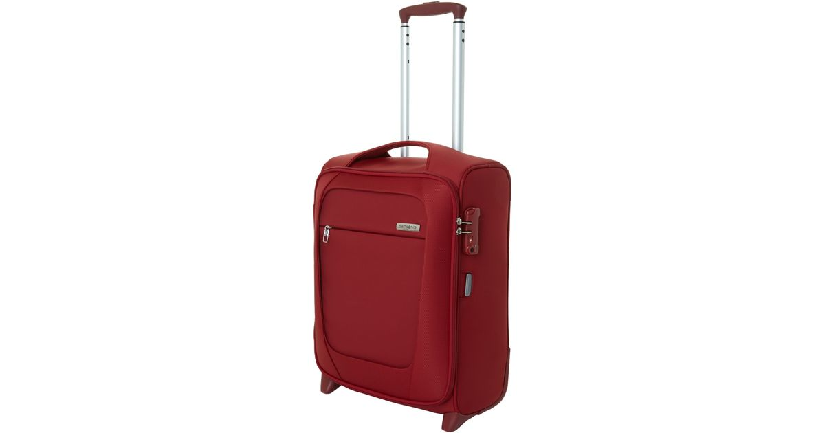 Samsonite New B-lite 2-wheel Red Cabin Suitcase in Red for Men | Lyst