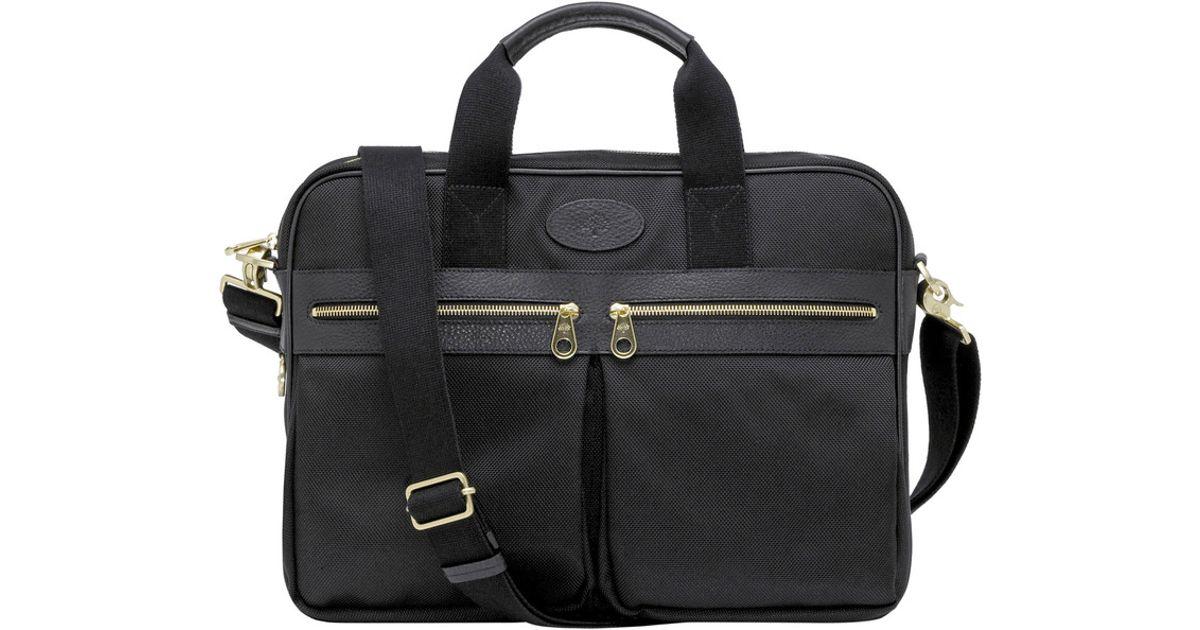 Lyst - Mulberry Henry Laptop Case in Black for Men 642061ec3ae3e