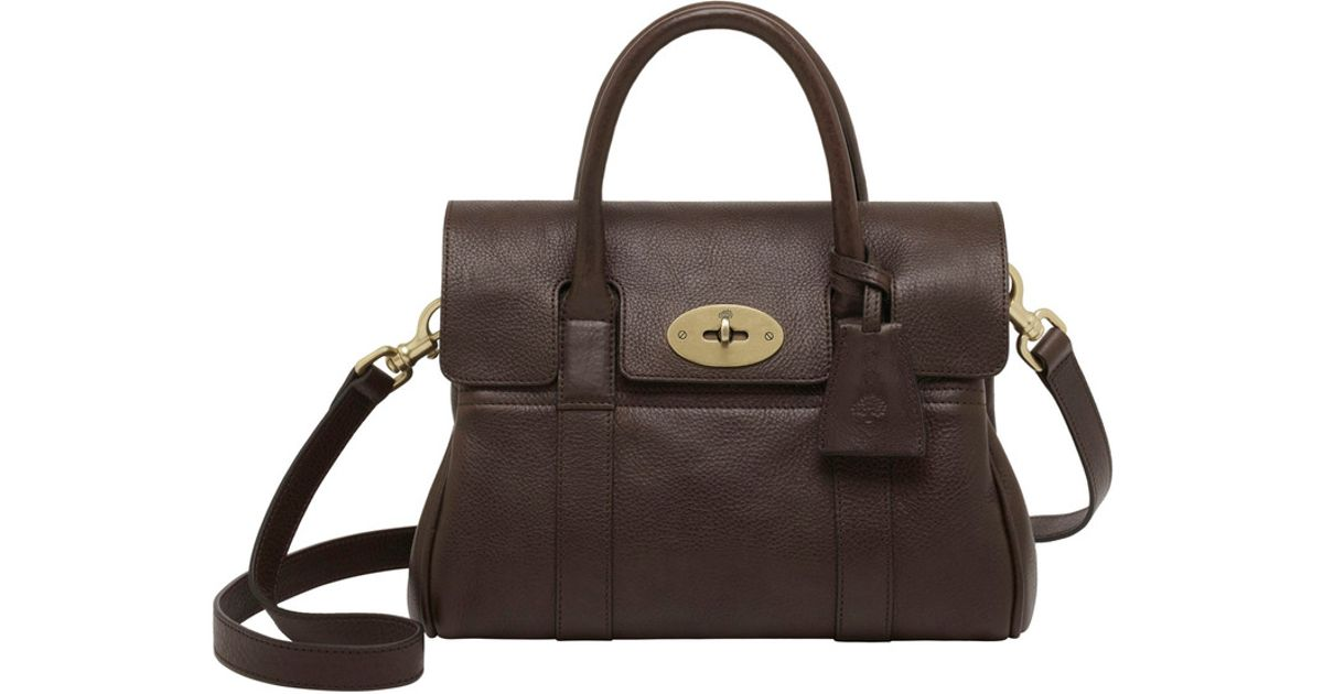 945653855a41 new zealand mulberry small bayswater satchel chocolate virus 05abe 267fc