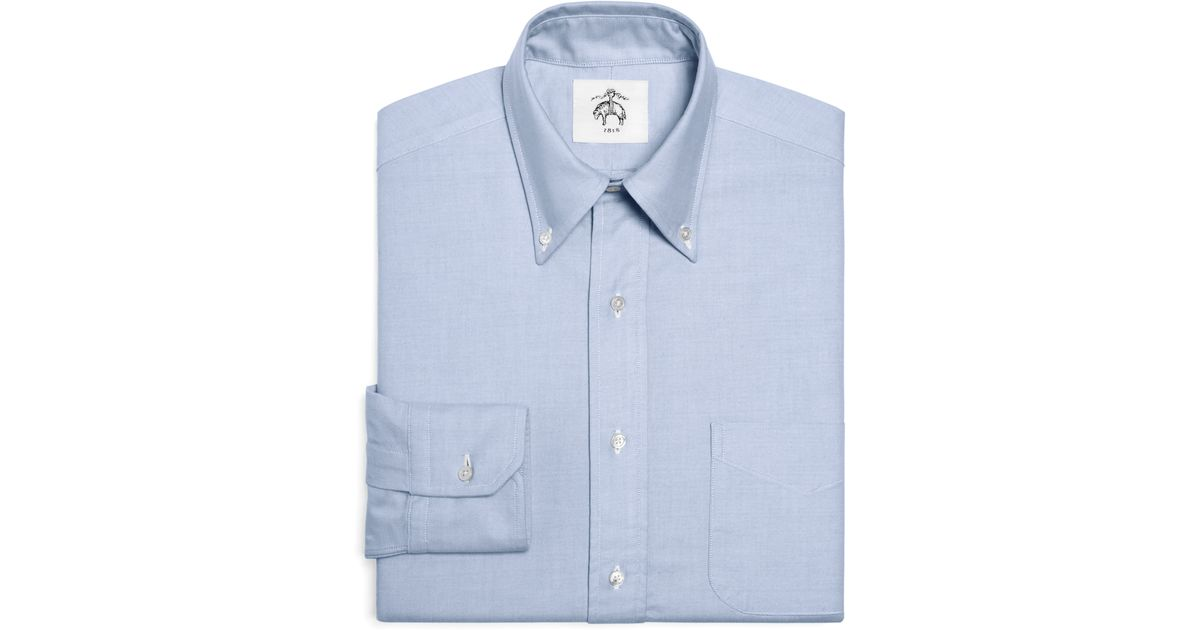 Brooks brothers Black Fleece Oxford Button-down Shirt With Stripe ...