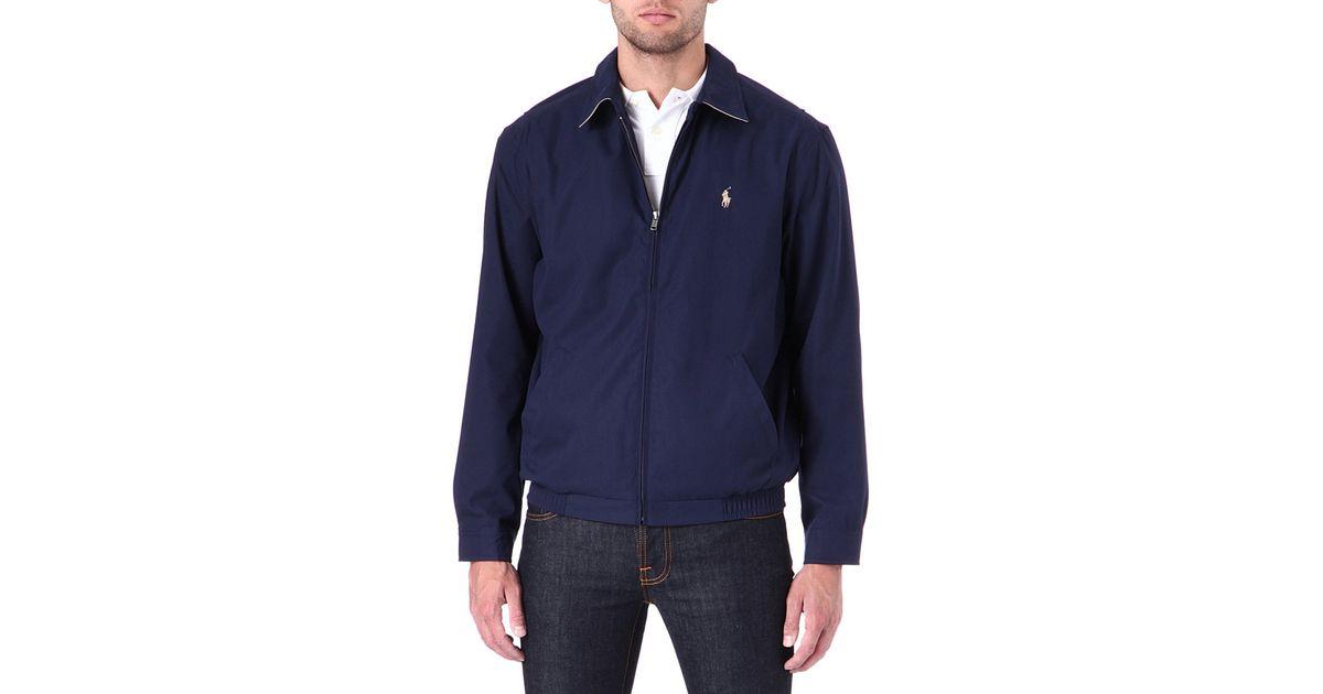 Polo Ralph Lauren New Fit Bi Swing Windbreaker Jacket In