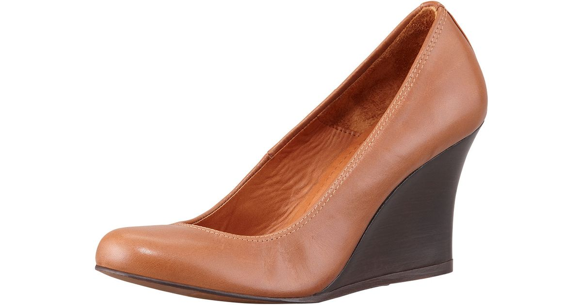 free shipping affordable Lanvin Leather Wedged Pumps cheap sale new arrival cheap store 1kOHP