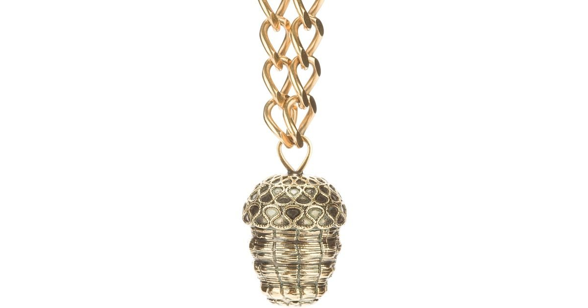 fishers pendant acorn jewellers pearl home kagi product