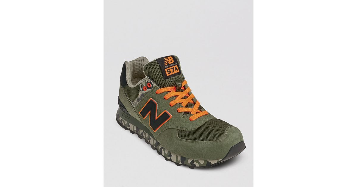 new balance 574 uomo camouflage