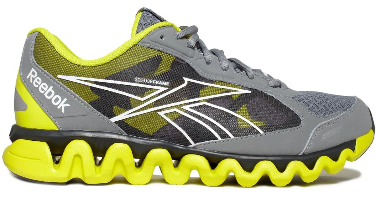 Wxx0cqar Ziglite Rush For In Men Sneakers Lyst Gray Reebok CExrBeWQod