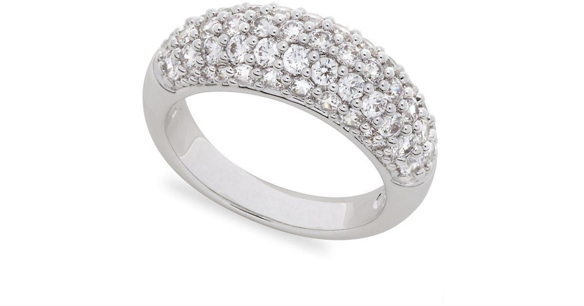 Lyst - Swarovski Maeva Ring in Metallic 53651be59e