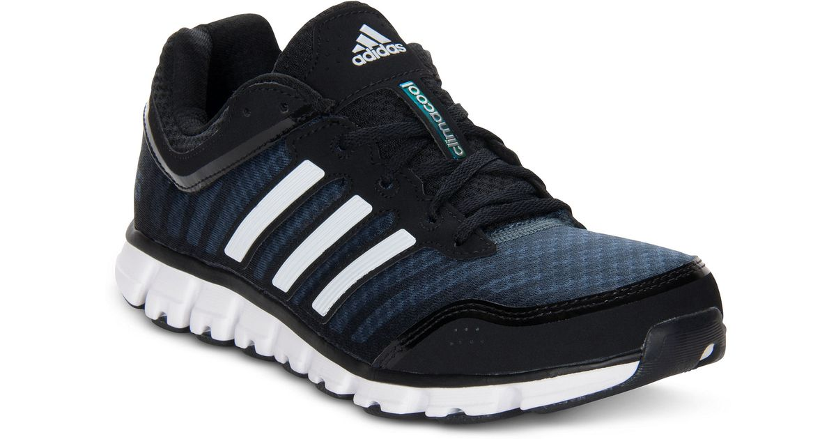 Adidas Black Climacool Aerate 2 Sneakers for men