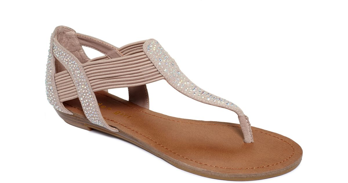Madden Girl Tonee Flat Thong Sandals in