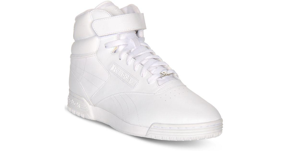 Reebok Exofit Mid Casual Sneakers in
