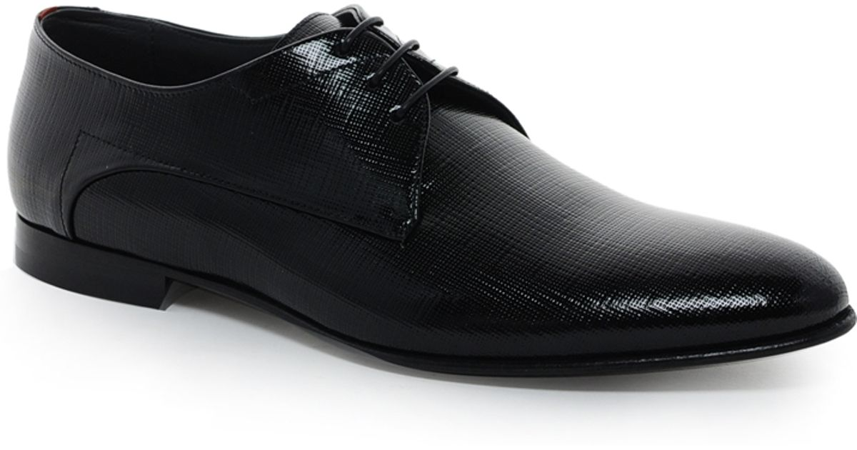 8575d6fc6fb Lyst - Love Hugo By Hugo Boss Eviana Patent Shoes in Black for Men