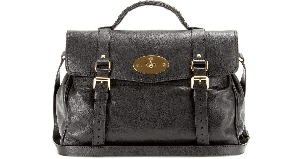 c113b48b0f5a uk mulberry oversized alexa leather bag 37848 ce03f