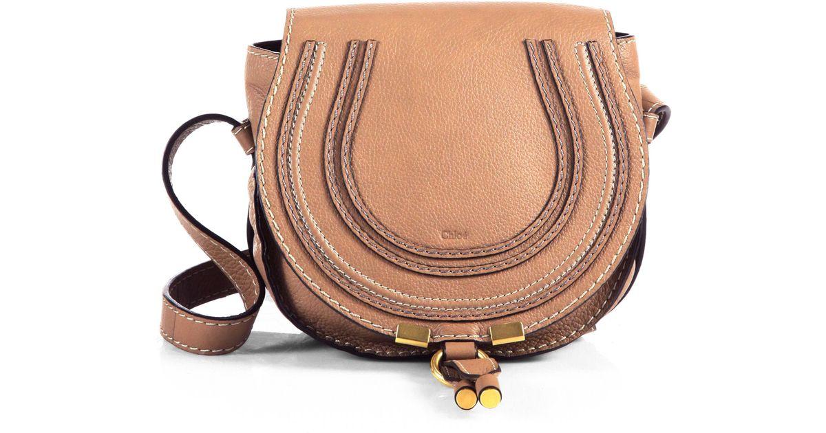 cheap replica chloe handbags - Chlo�� Marcie Small Crossbody Bag in Brown (NUT) | Lyst