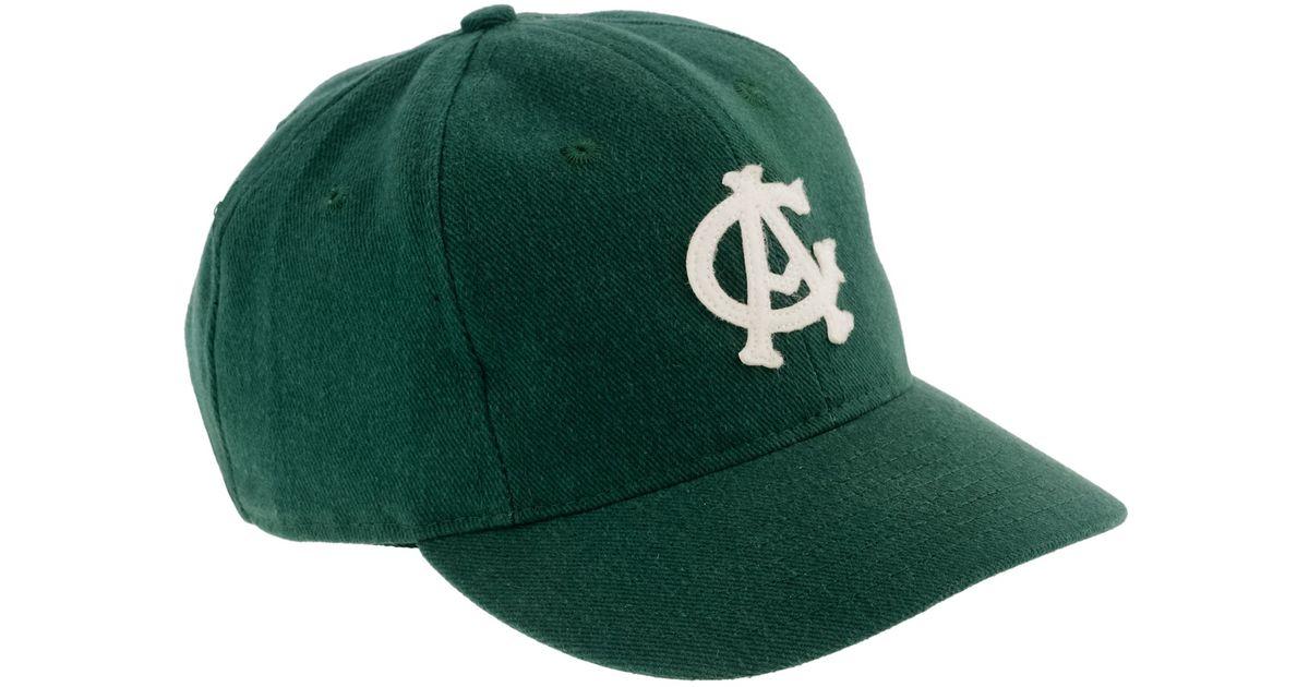Lyst - J.Crew Ebbets Field Flannels For Jcrew Twill Ball Cap in Green for  Men ba3c5aa9a4fd