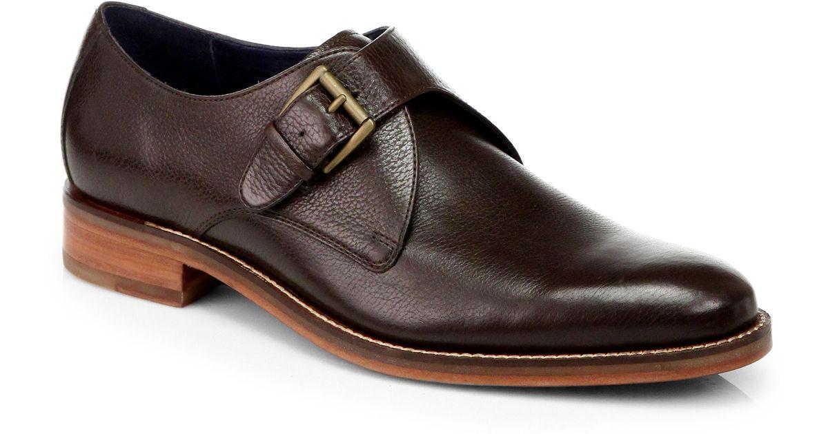 Cole Haan Madison Monkstrap Dress Shoes