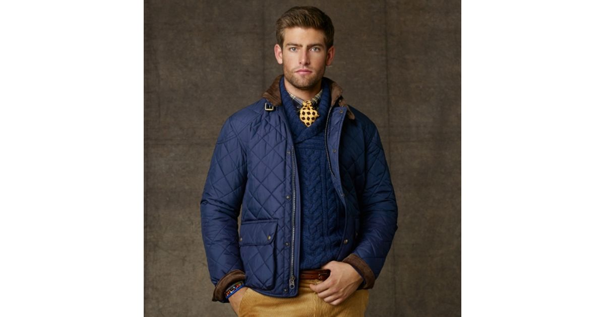 Best Polo Ralph Lauren Cadwell Quilted Bomber Jacket Image Collection