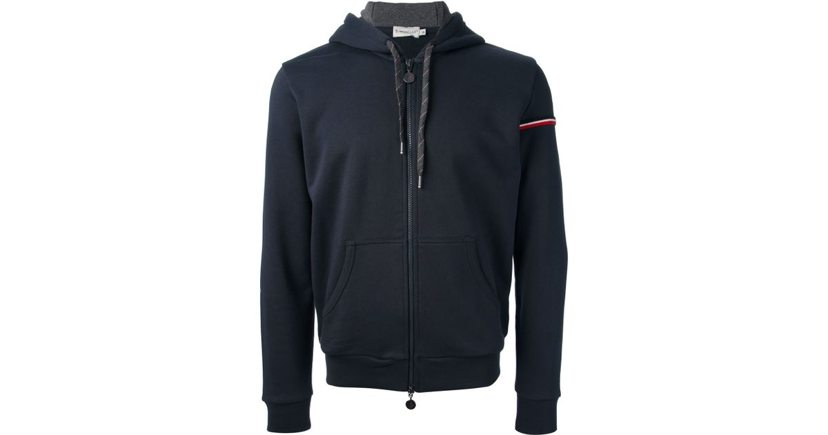 moncler hooded track top