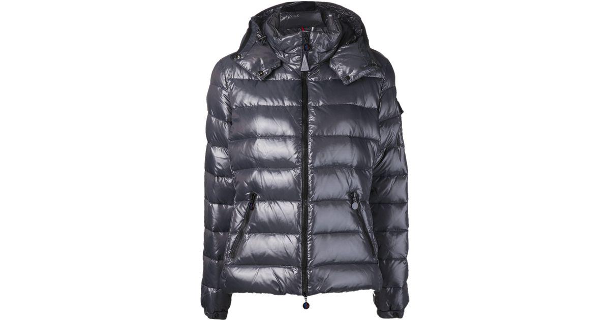d47ca55f4 Moncler - Gray Puffer Coat - Lyst