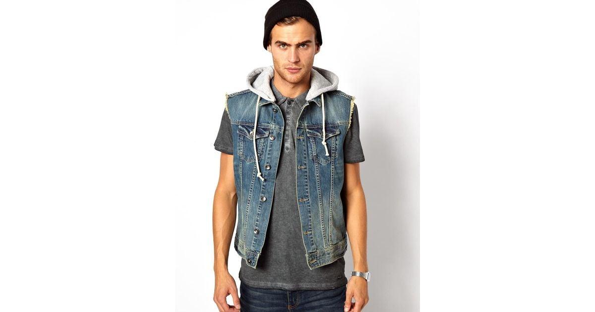Denim jacket hood Women's Jackets & Coats | Bizrate.