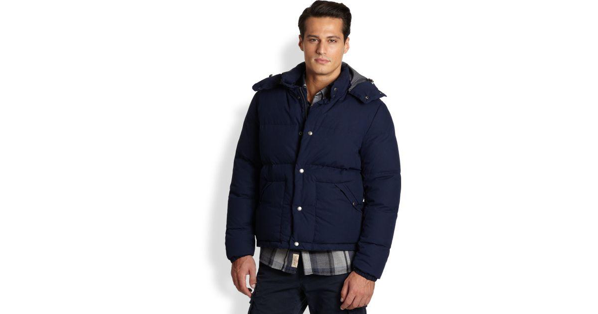 15865c38b Woolrich Blue Sierra Supreme Jacket for men
