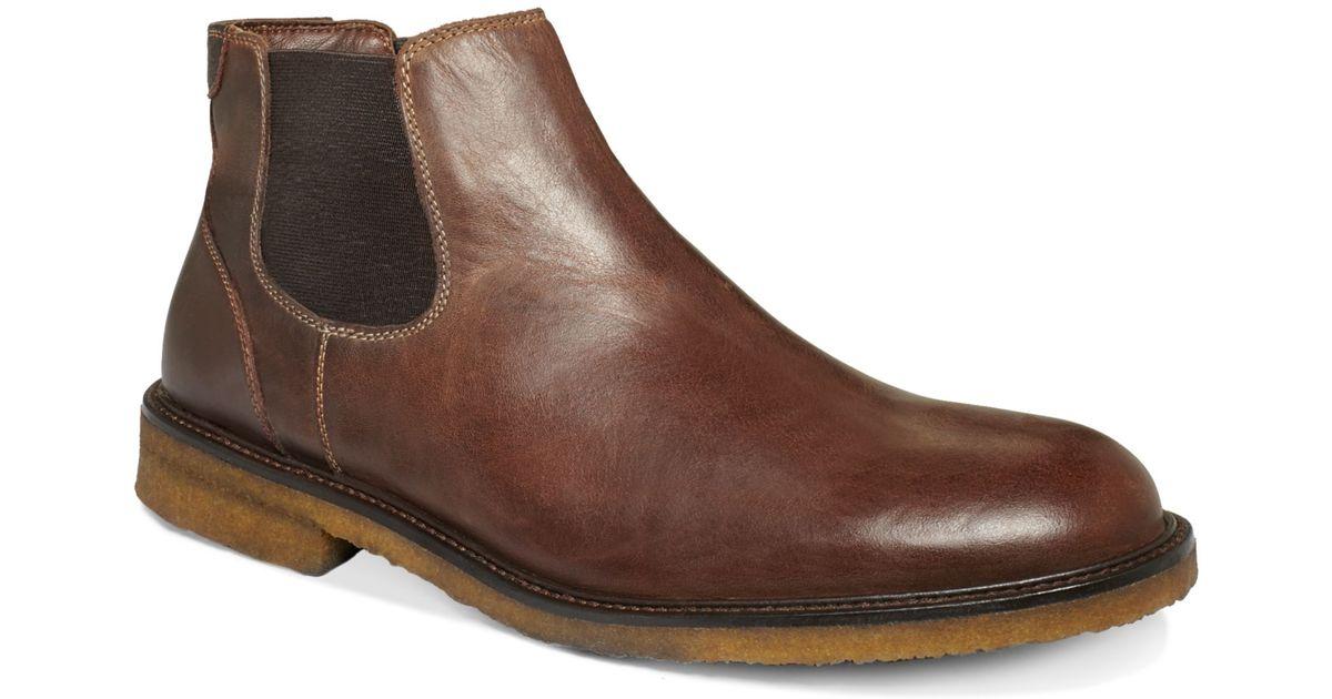 07a679f98c9 Johnston & Murphy Brown Copeland Gore Boots for men