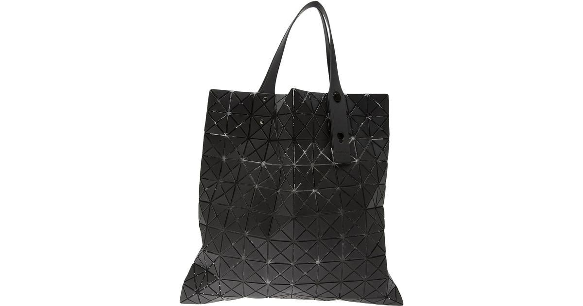 Lyst - Bao Bao Issey Miyake Bao Bao Issey Miyake Pyramid Square Shoulder Bag  in Black 37bcbae9bf304
