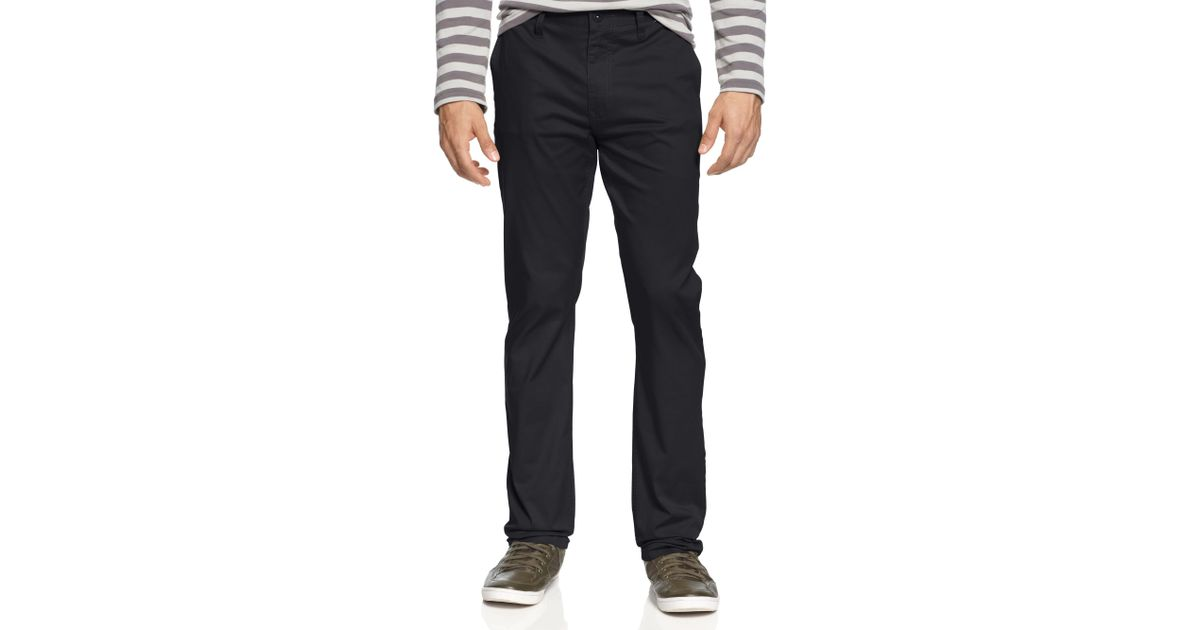 Hurley Mens Impala Straight Fit Utility Work Pant