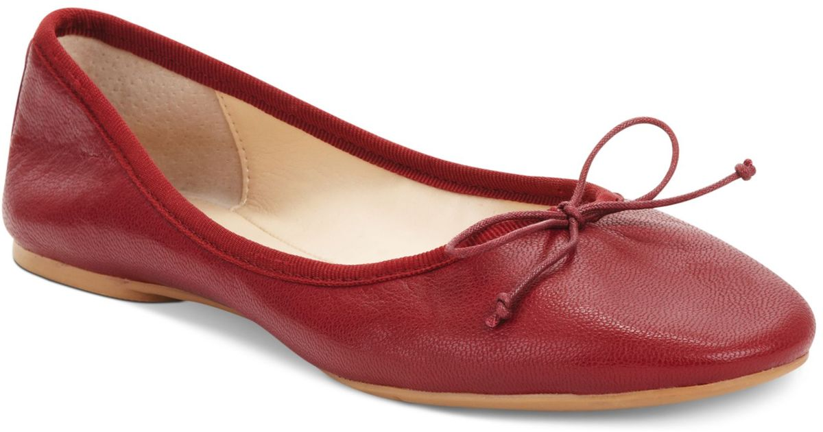 enjoy free shipping discount shop exclusive deals Nine West Red Classica Ballet Flats