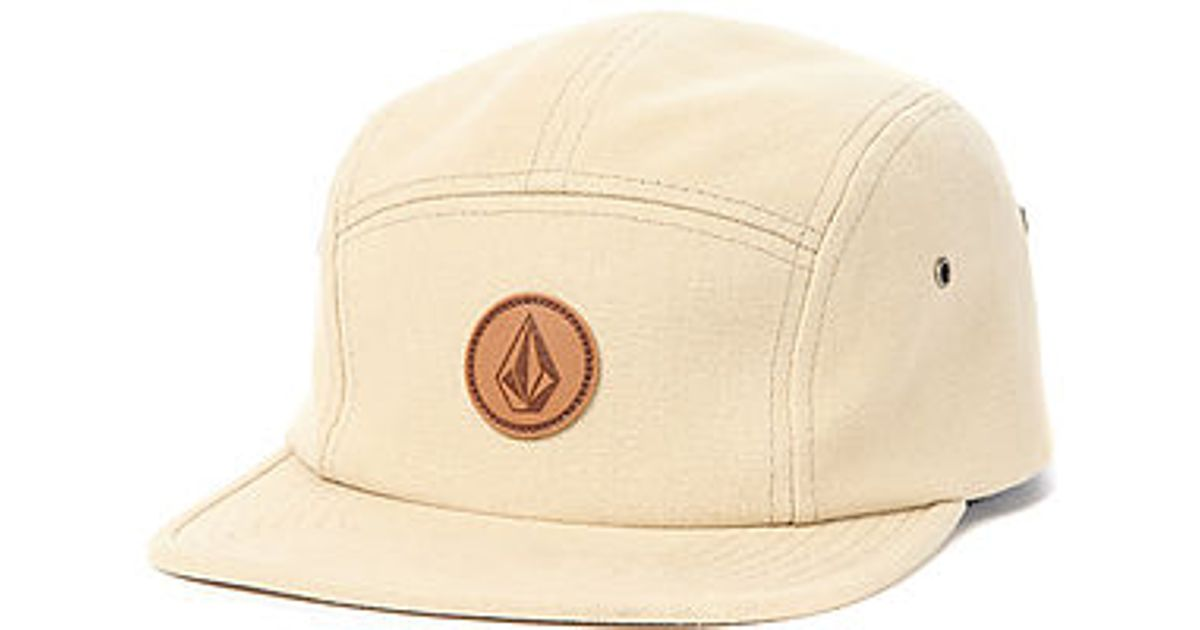 064adea17c1 ... sweden lyst volcom the killing it 5 panel hat in natural for men 6d930  a74dd