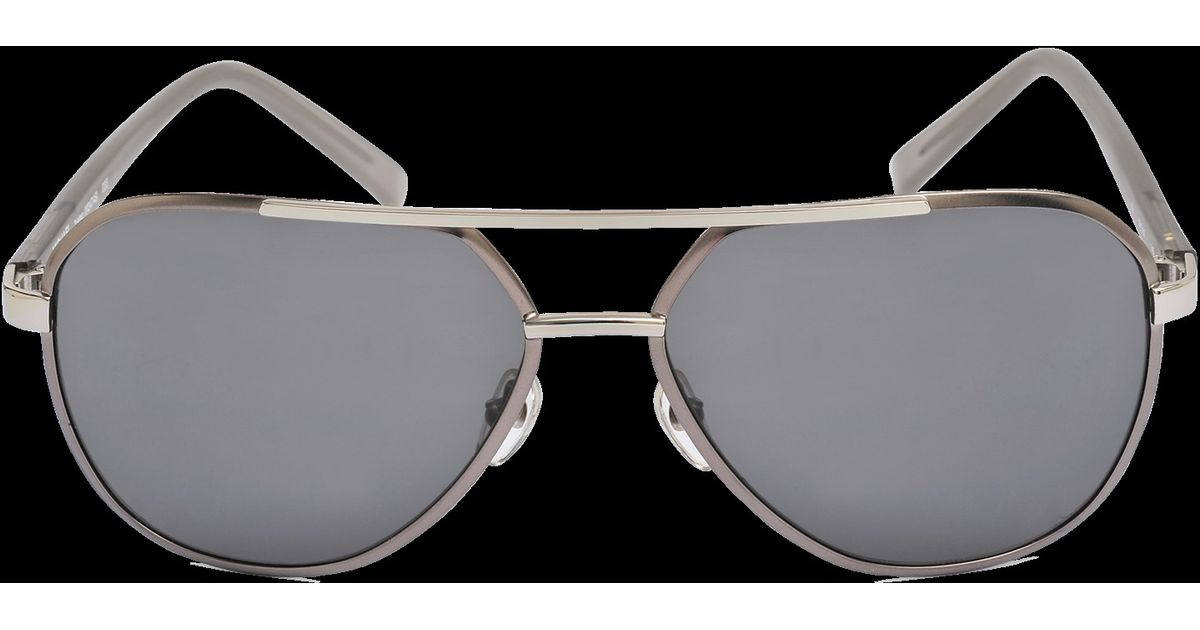 c52e20baa8a9 Michael Kors Tristan Sunglasses in Gray - Lyst