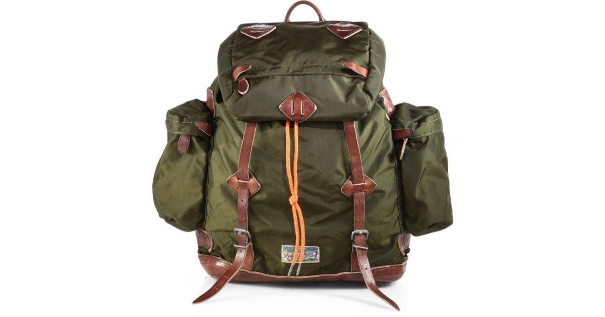 870233cd565b Lyst - Polo Ralph Lauren Yosemite Backpack in Green for Men