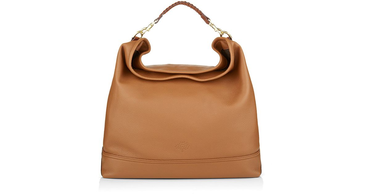 Mulberry Effie Hobo Bag in Brown - Lyst 23f4837a812d4