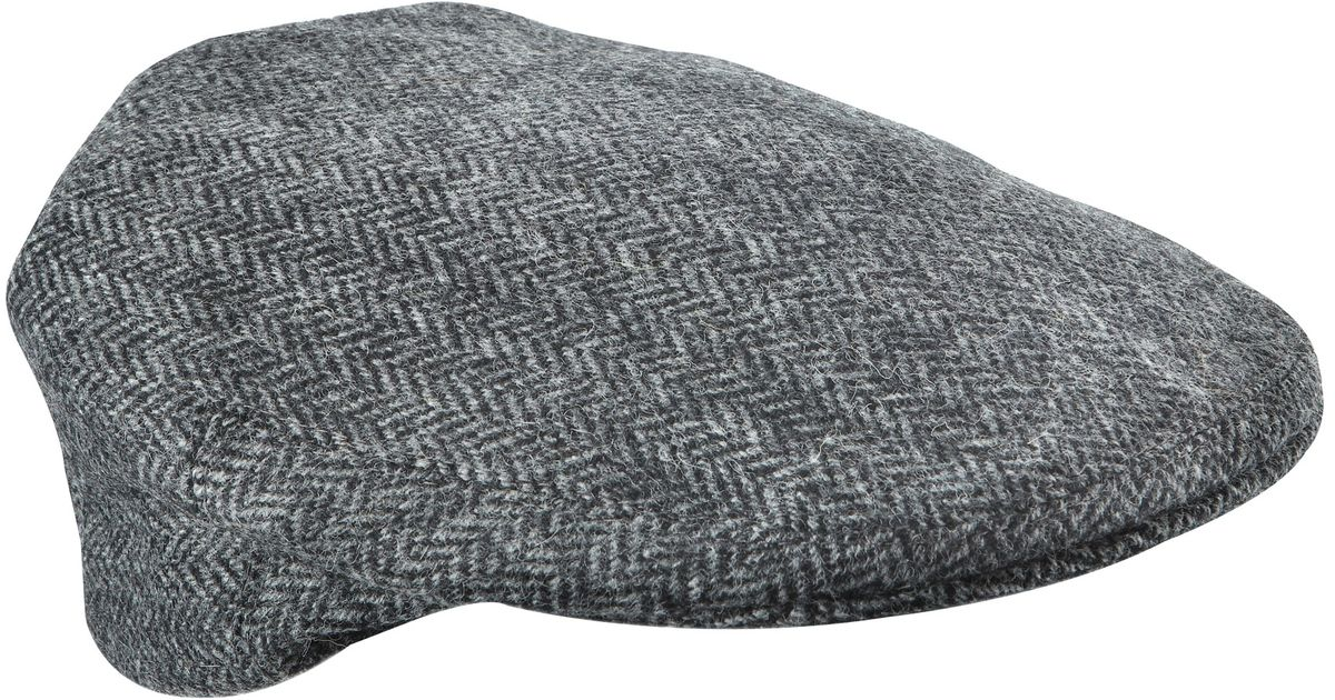 27a3dcccb Olney Gray Hereford Tweed Flat Cap for men