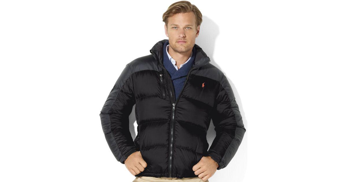 Ralph Black For Trek Lauren Snow Down Jacket Men Polo Core WED9IH2Y