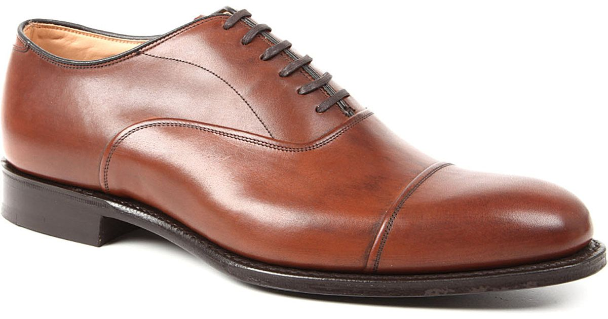 new product 8503f 4c308 Church's Brown Buckden Toecap Oxford Shoes for men