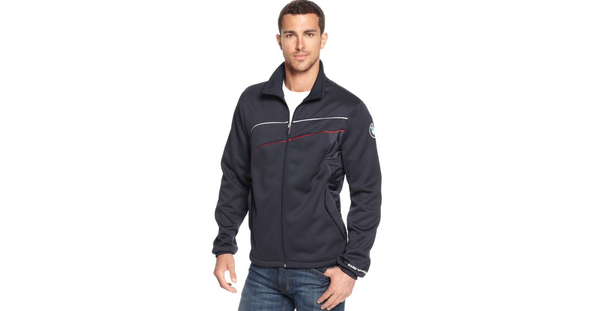 8418e7cb89ed Lyst - PUMA Bmw Bonded Jacket in Blue for Men