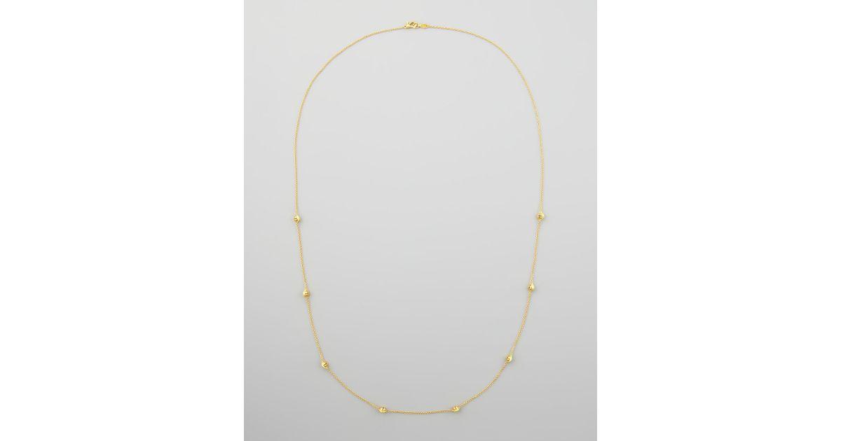 Paul Morelli 18k Gold Jingle Meditation Bell Necklace, 36L