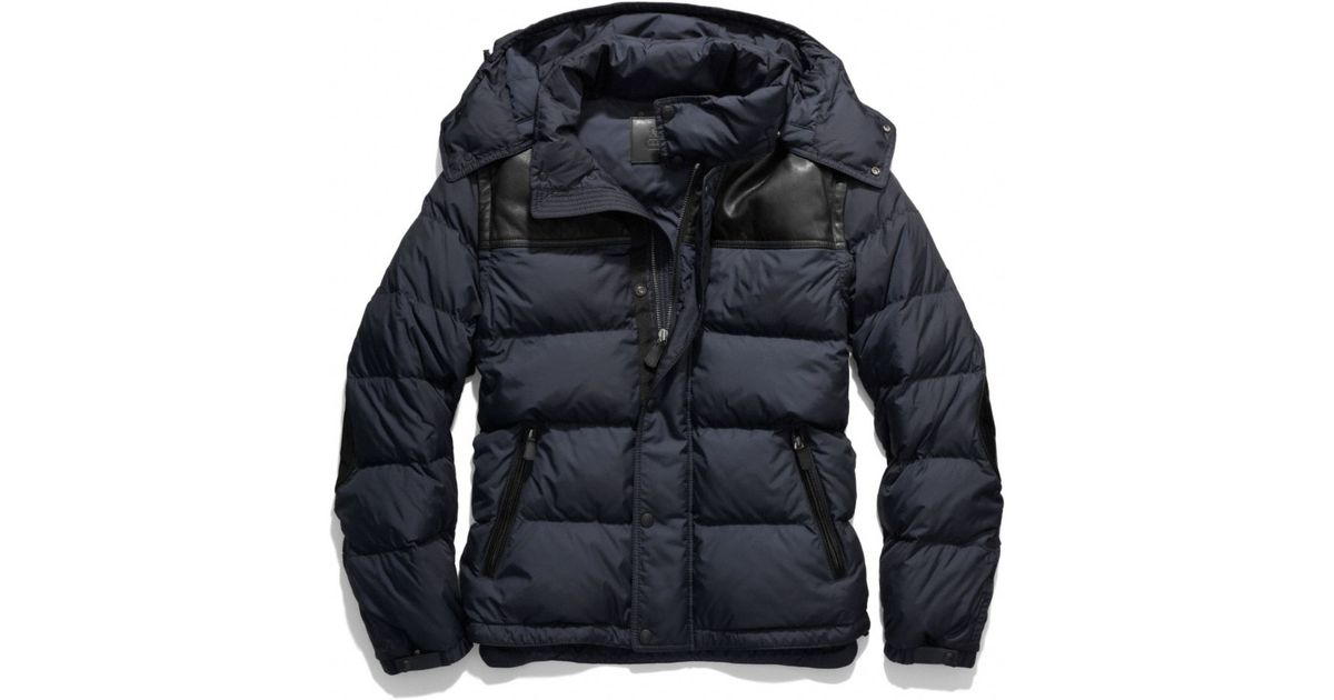 be1474c24 COACH Blue Clarkson Down Jacket for men