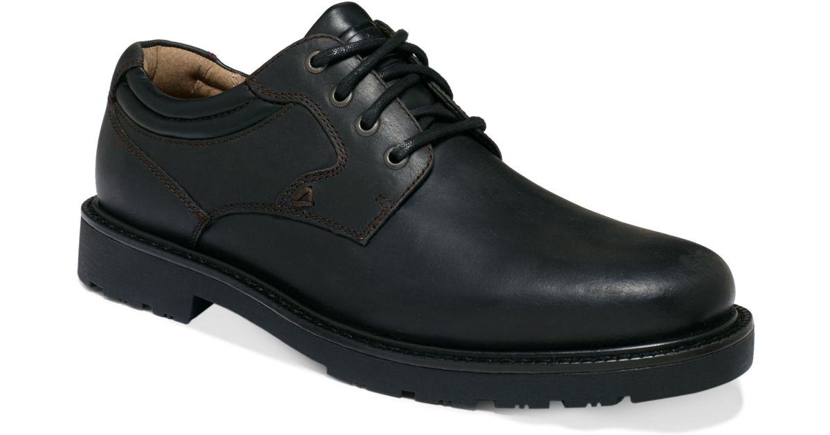 Dockers Barlow Plain Toe Shoes In Black For Men Lyst