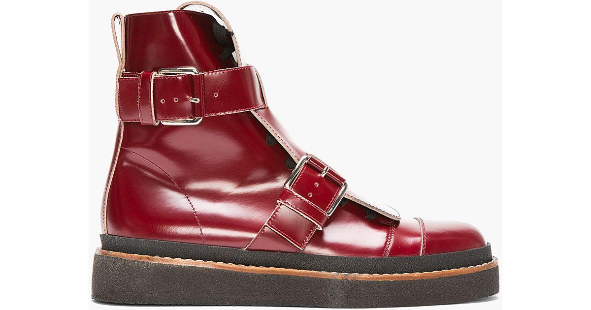 Marni Contrast buckle boots uX31Gwlj
