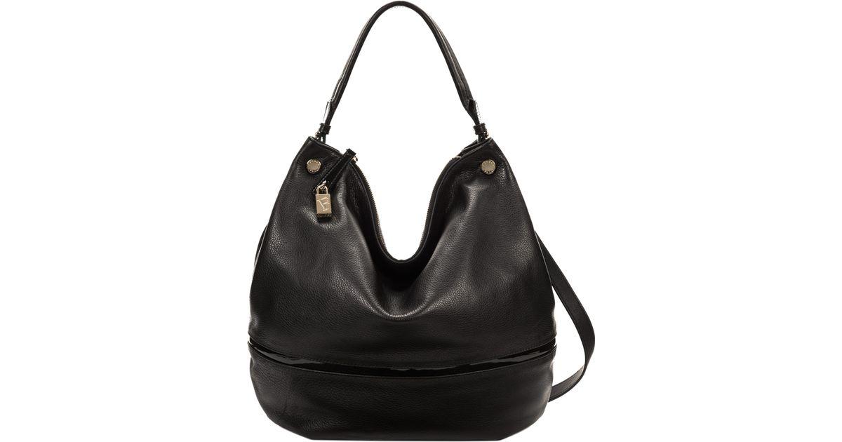 bda6a94633 Furla Montmartre Hobo Bag in Black - Lyst