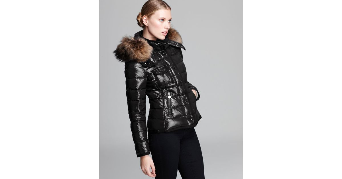 moncler jacket - armco short quilted down